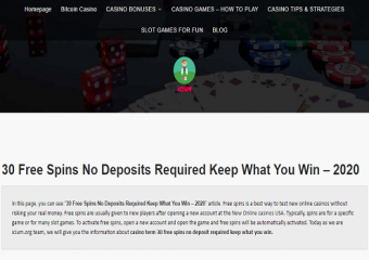 Your Correspondence 30 free spins no deposit required keep what you win