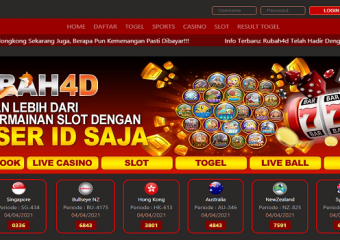 Poker: the big deal Togel Singapore