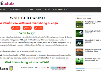 W88 club: How Can You Gamble With ONLINE CASINO Vietnam?